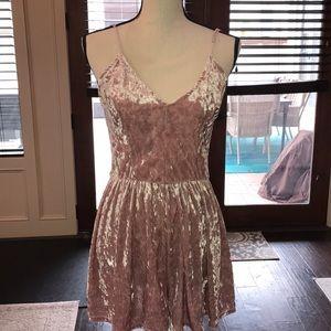 Dresses & Skirts - Pacsun velvet romper